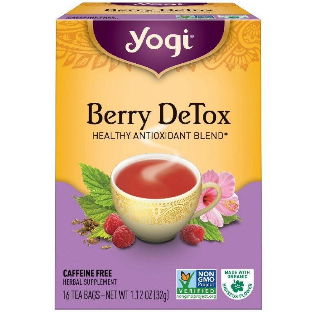 Yogi Berry Detox Healthy Antioxidant Blend Tea