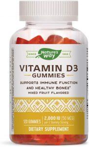 nature's way vitamin d3 gummies 2000 iu