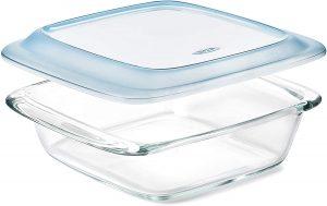 Glass refrigerator food storage