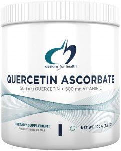 Designs for Health Quercetin Ascorbate Powder 100 gms